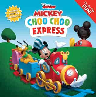 Disney Mickey Mouse Clubhouse: Choo Choo Express Lift-the-flap by Editors of Studio Fun International