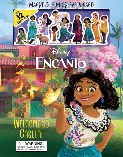 Disney Encanto: Welcome To Casita! by Editors of Studio Fun International