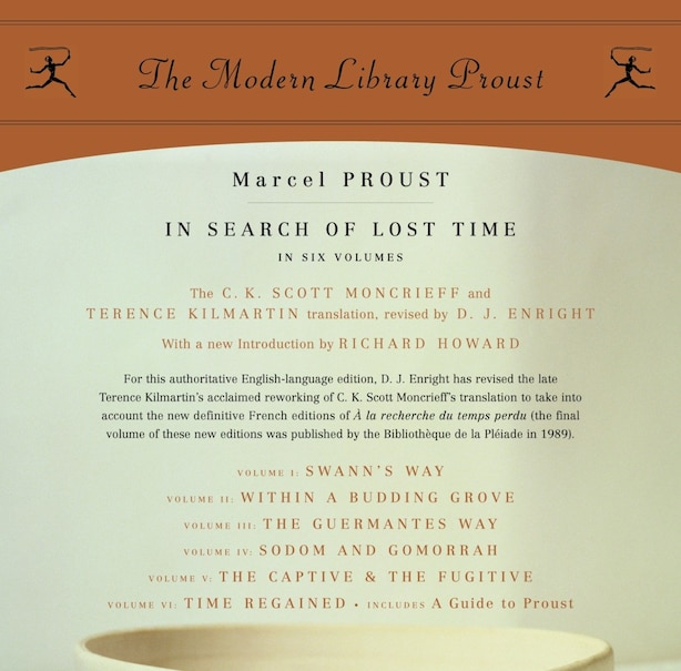 In Search Of Lost Time: Proust 6-pack by Marcel Proust