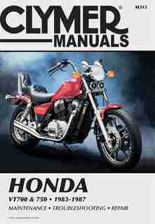 Clymer Honda Vt700 & 750, 1983-1987: Service, Repair, Maintenance by Ed Penton Staff