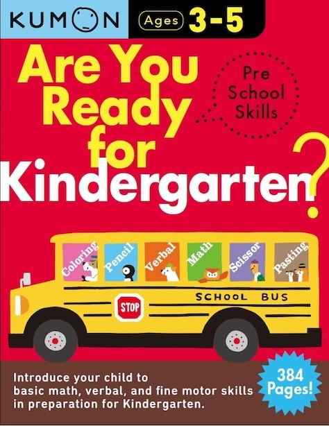 Are You Ready for Kindergarten Preschool Skills