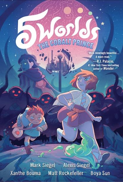 5 Worlds Book 2: The Cobalt Prince by Mark Siegel