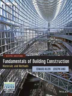 Fundamentals of Building Construction: Materials and Methods de Edward Allen
