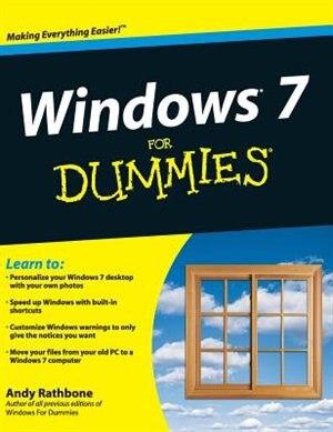 Windows 7 For Dummies de Andy Rathbone