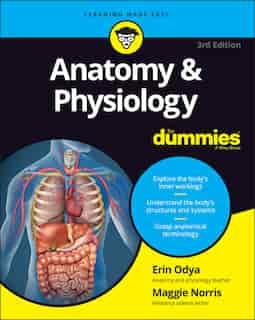 Anatomy & Physiology For Dummies by Erin Odya