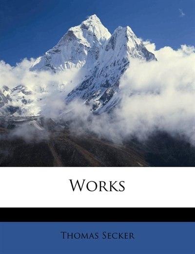 Works by Thomas Secker