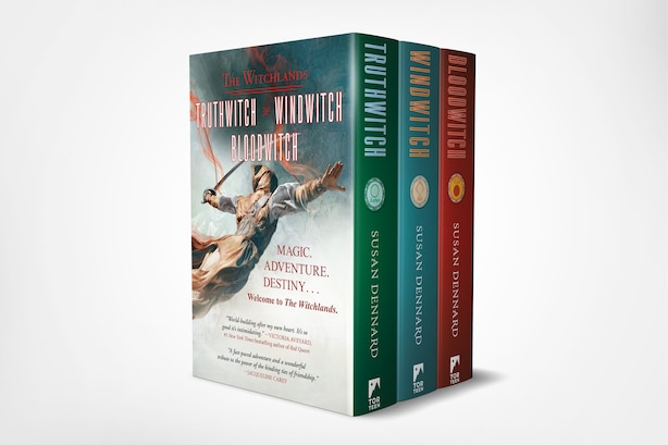 Witchlands Boxed Set: (truthwitch, Windwitch, Bloodwitch) by Susan Dennard