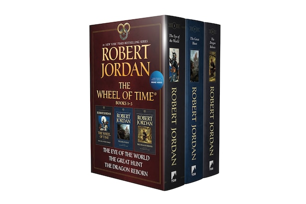 Wheel Of Time Paperback Boxed Set I: The Eye Of The World, The Great Hunt, The Dragon Reborn by Robert Jordan