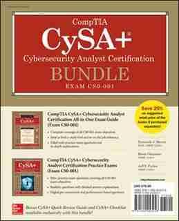 CompTIA CySA+ Cybersecurity Analyst Certification Bundle (Exam CS0-001) by Fernando Maymi