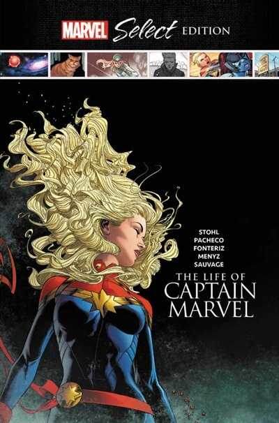 The Life Of Captain Marvel Marvel Select Edition de Margaret Stohl