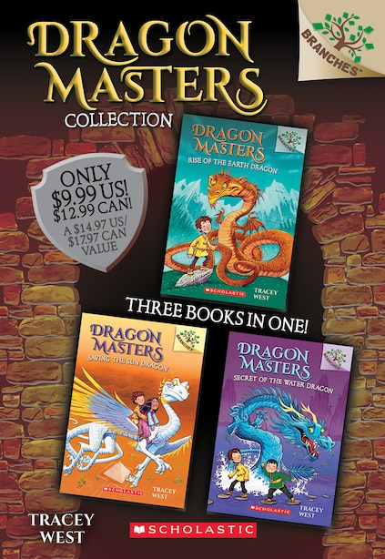 Dragon Masters Collection (Books 1-3) by Tracey West