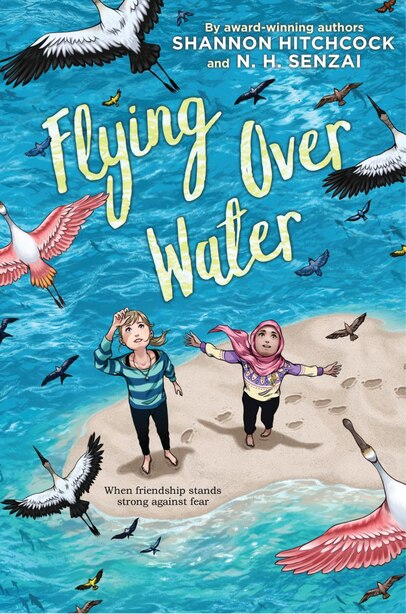 Flying Over Water by N. H. Senzai