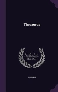 Thesaurus by Sigma Phi