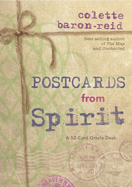 Postcards From Spirit: A 52-card Oracle Deck by Colette Baron-reid