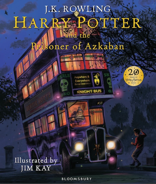 Harry Potter And The Prisoner Of Azkaban: Illustrated Edition by J.K. Rowling