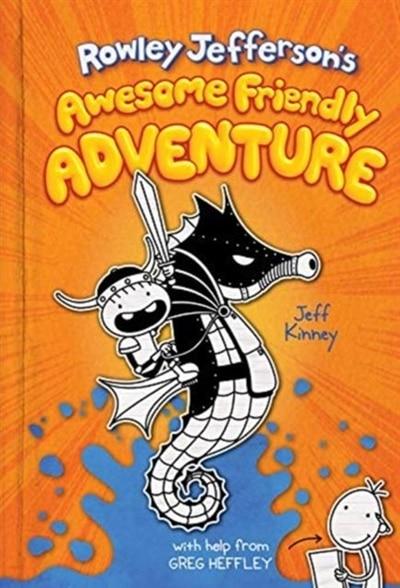 Rowley Jefferson's Awesome Friendly Adventure de Jeff Kinney