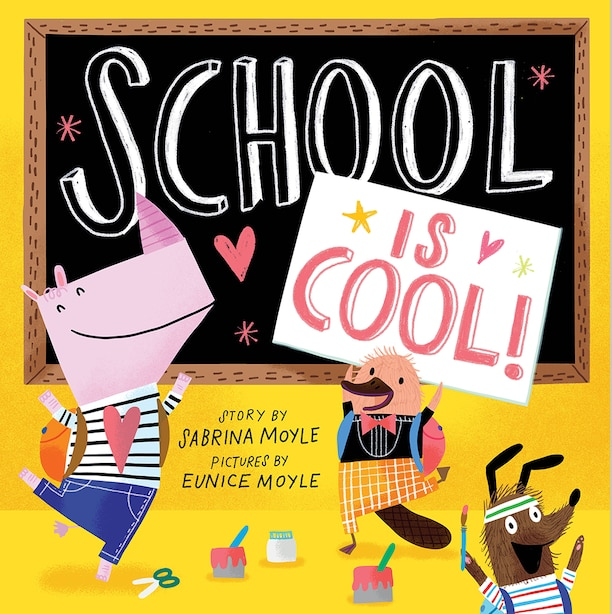 School Is Cool! (a Hello!lucky Book) by Hello!Lucky