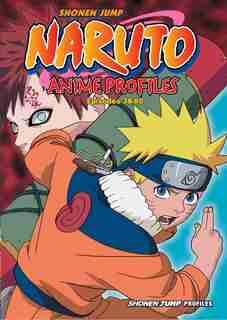 Naruto Anime Profiles, Vol. 2: Hiden Shippu Emaki by Masashi Kishimoto