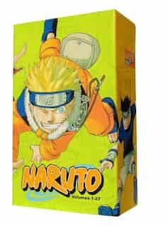 Naruto Box Set 1: Volumes 1-27 with Premium by Masashi Kishimoto