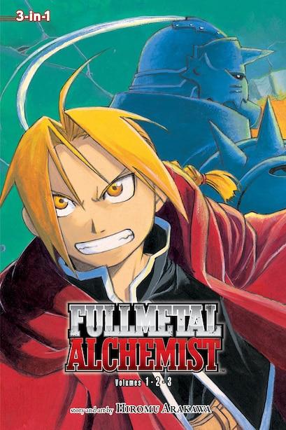 Fullmetal Alchemist (3-in-1 Edition), Vol. 1: Includes vols. 1, 2 & 3 by Hiromu Arakawa