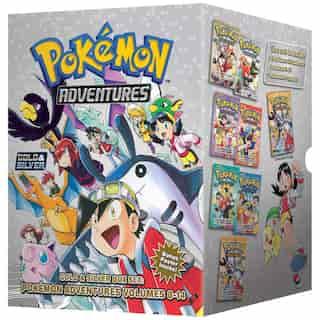 Pokémon Adventures Gold & Silver Box Set (Set Includes Vols. 8-14) de Hidenori Kusaka