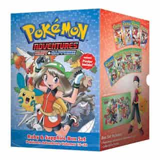 Pokémon Adventures Ruby & Sapphire Box Set: Includes Volumes 15-22 de Hidenori Kusaka