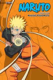 Naruto (3-in-1 Edition), Vol. 18: Includes vols. 52, 53 & 54 by Masashi Kishimoto