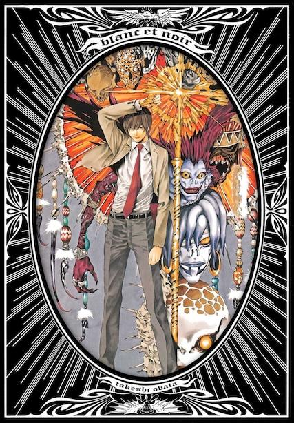 Blanc Et Noir: Takeshi Obata Illustrations: Takeshi Obata Illustrations by Takeshi Obata
