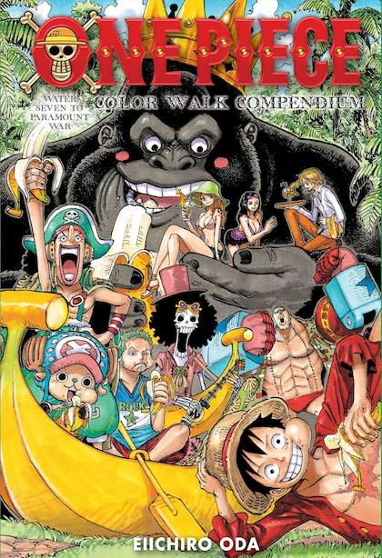 One Piece Color Walk Compendium: Water Seven to Paramount War by Eiichiro Oda