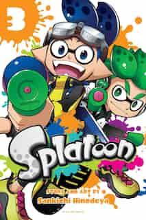 Splatoon, Vol. 3 by Sankichi Hinodeya