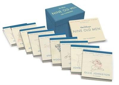 Walt Disney Animation Studios The Archive Series Walt Disney's Nine Old Men: The Flipbooks de Pete Docter