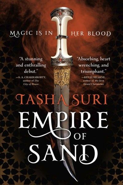 Empire Of Sand: (Large  Print) by Tasha Suri