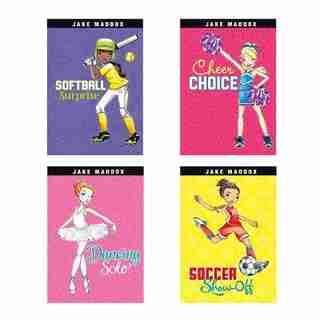 Jake Maddox Girl Sport Stories by Jake Maddox