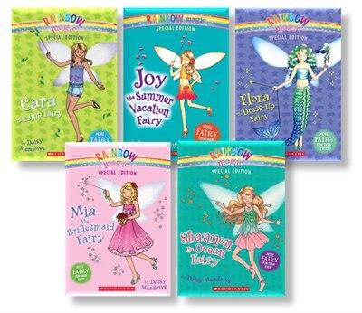 Rainbow Magic Special Edition Fairy Collection (5 Books) de Daisy Meadows