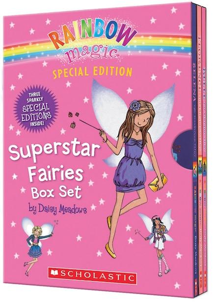 Rainbow Magic Special Edition: Superstar Fairies (Box Set) by Daisy Meadows