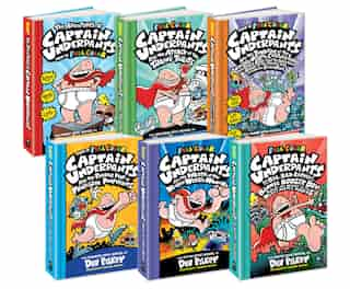 Captain Underpants Full-color Collection: Books 1-6 (indigo Exclusive) by Dav Pilkey