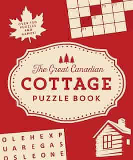 Great Canadian Cottage Puzzle Book de Collins