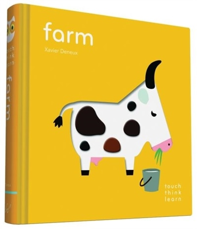 Touchthinklearn: Farm: (childrens Books Ages 1-3, Interactive Books For Toddlers, Board Books For Toddlers) by Xavier Deneux