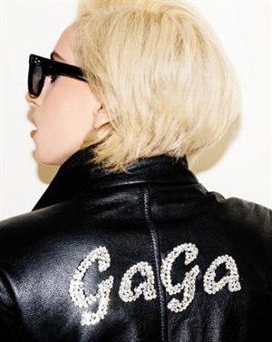 Lady Gaga X Terry Richardson by Terry Richardson