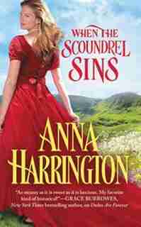 When The Scoundrel Sins by Anna Harrington