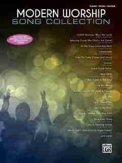 Modern Worship Song Collection: Piano/vocal/guitar by Alfred Music