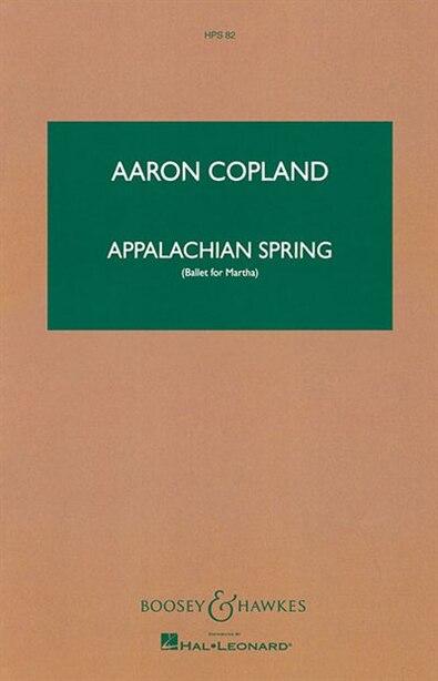 Appalachian Spring: Score