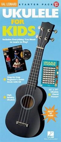 Ukulele For Kids Starter Pack by Chad Johnson