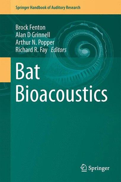 Bat Bioacoustics by M. Brock Fenton