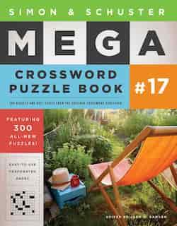 Simon & Schuster Mega Crossword Puzzle Book #17 de John M. Samson