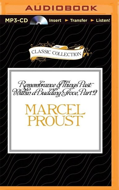 Remembrance Of Things Past: Within A Budding Grove, Part 2 by Marcel Proust