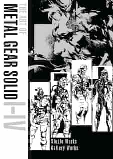 The Art Of Metal Gear Solid I-iv by Konami