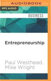 Entrepreneurship: A Very Short Introduction by Paul Westhead