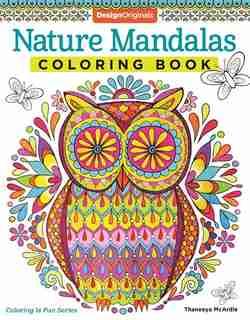 Nature Mandalas Coloring Book de Thaneeya McArdle