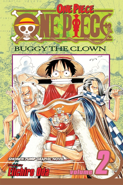 One Piece, Vol. 2: Buggy The Clown by Eiichiro Oda